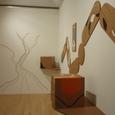 壁/キューブ/壁の木